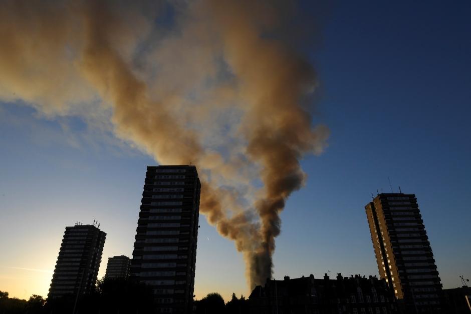london fire smoke day