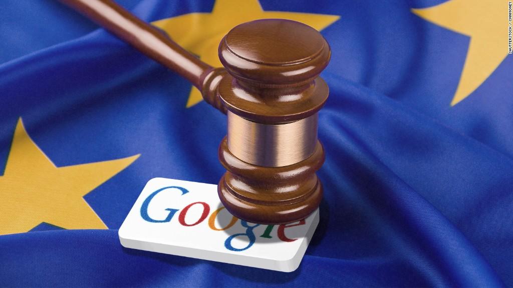 Google fined record $2.7 billion by EU