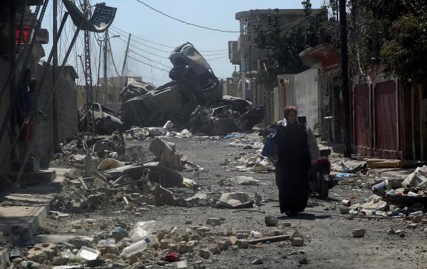 MIDEAST-CRISIS/IRAQ-MOSUL