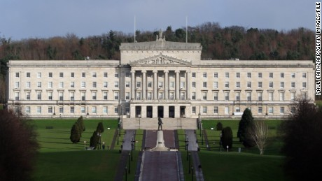 The Parliament Buildings at Stormont.