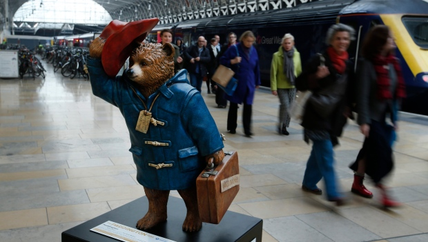 Britain Obit Michael Bond