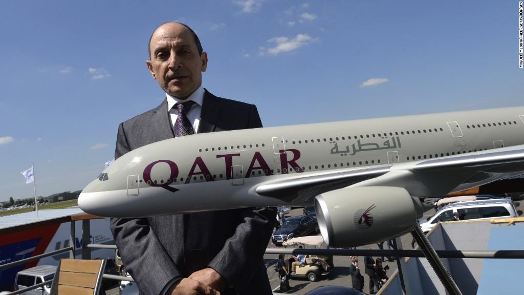 Qatar Airways CEO: U.S. fueling fire of Gulf Crisis