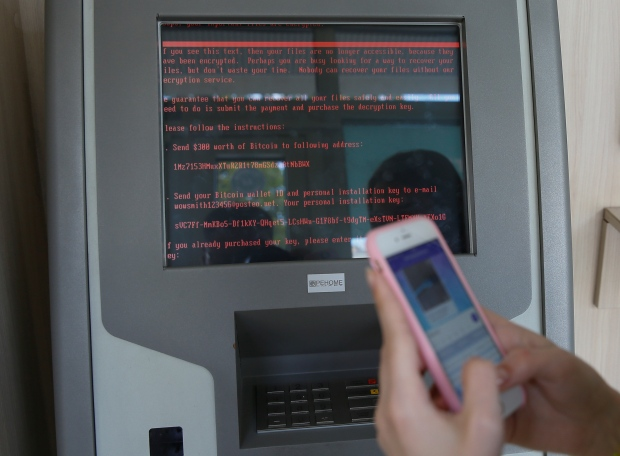 CYBER-ATTACK/UKRAINE ransomware petya malware
