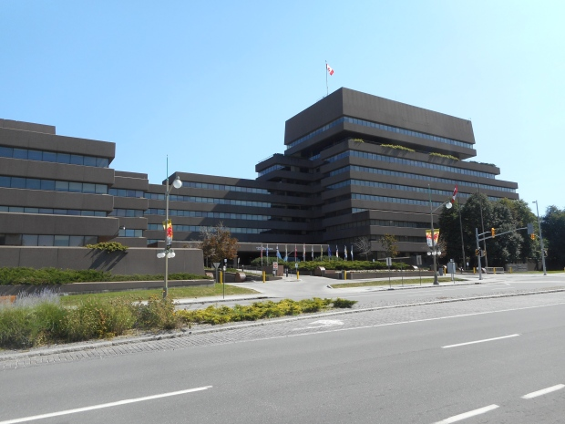 Lester B. Pearson Building, 125 Sussex Ave. Ottawa, headquarters of Global Affairs Canada