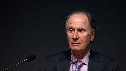 David Bonderman, founding partner of Texas Pacific Group Capital, attends the Asian Leadership Conference in Seoul, South Korea, on Tuesday, March 4, 2014.