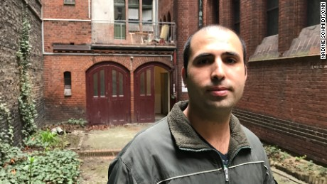 """Fares Naem was attacked at a tram stop in Berlin. """"It was not the assault that bothered me [but] that there are people out there who have racist ideas in their minds and people who did not help."""""""