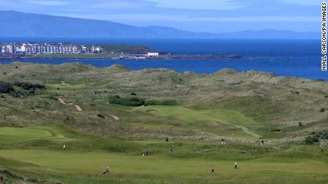 Royal Portrush is the jewel of the North Antrim coast.