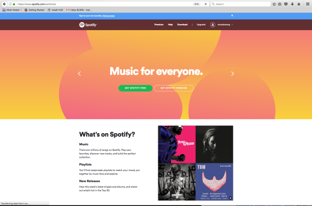 Spotify net neutrality