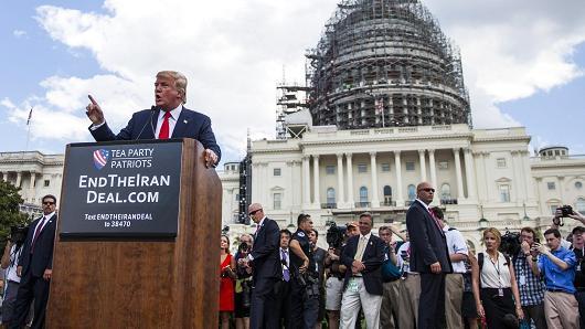 President Donald Trump vowed to end the Iran Nuclear Deal while on the campaign trail. He has continued to criticize Iran as president, though he has refrained from condemning Russia, although both countries support Syria's Bashar al-Assad.