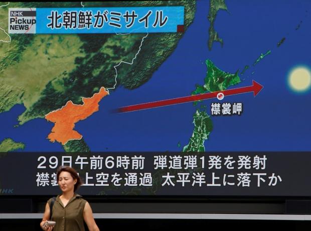 NORTHKOREA-MISSILES/JAPAN