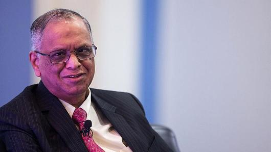 Narayana Murthy, co-founder of Infosys
