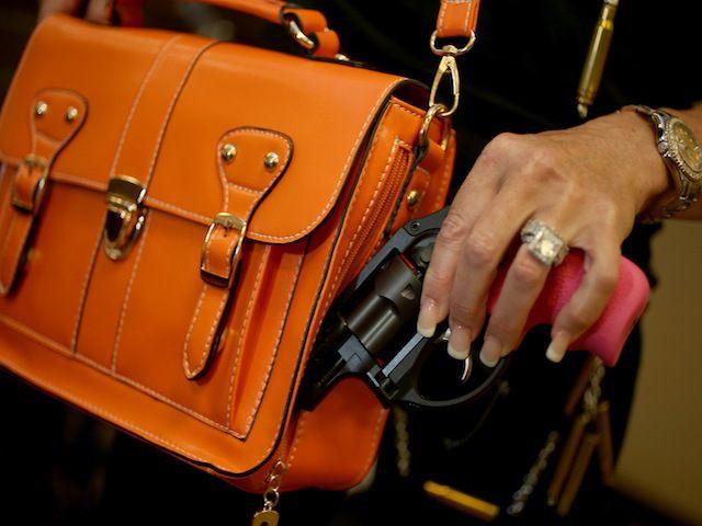 concealed permit (Joe Raedle/Getty Images/AFP)