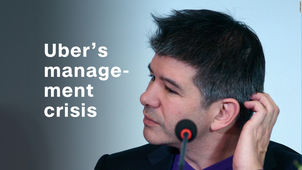 Timeline: Uber's management crisis