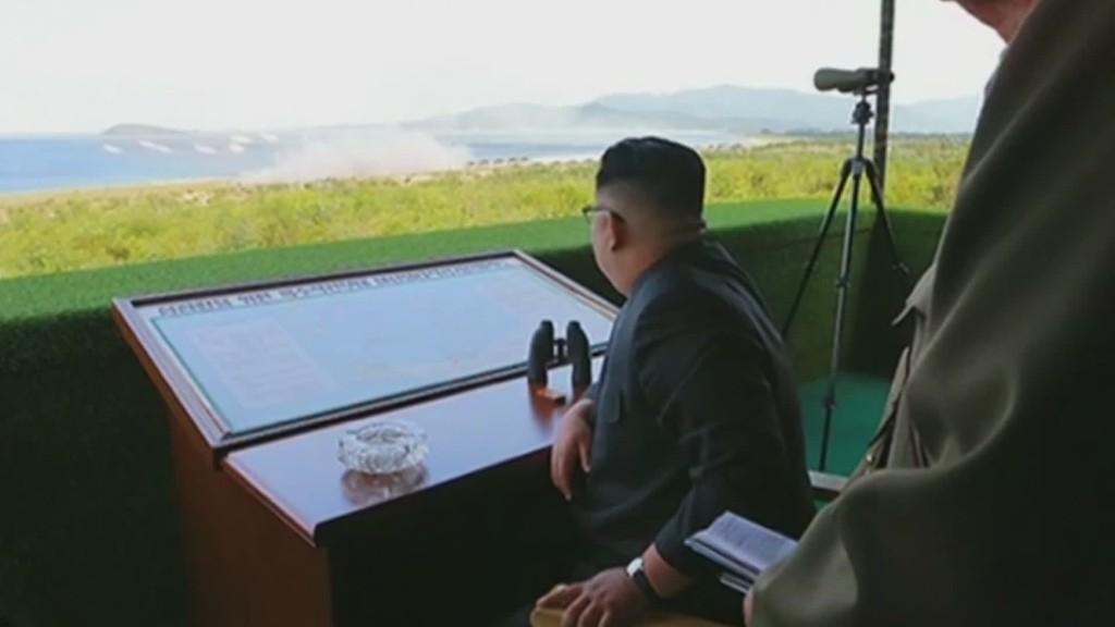 North Korea launches trio of missiles