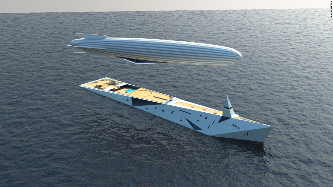 This striking yacht design, aimed at those with a strong passion for both sailing and aviation, could revolutionize the way we travel the sea.