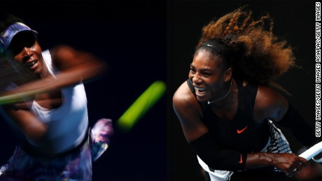 Sisters Venus Williams and Serena Williams have dominated their sport for almost 20 years