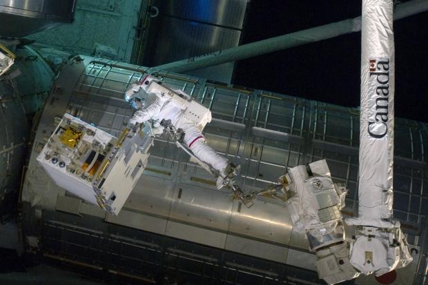 Ronald Gara Canadarm 2 failed pump 2011