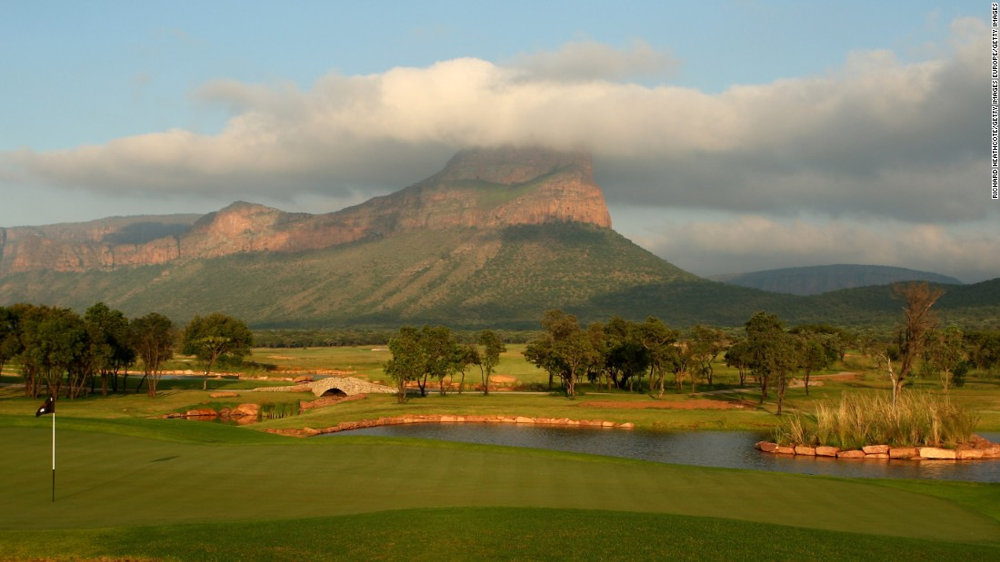 It's arguably one of the most spectacular settings in the world for a golf course. Situated within the South African bush -- in the Entabeni safari conservancy -- the Legend Golf Course is a three-hour drive from Johannesburg.