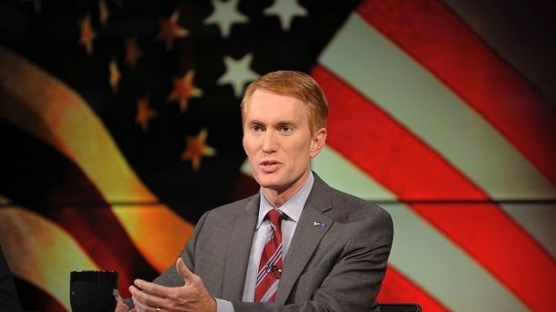 Congressman James Lankford (R) participates in the U.S. Senate debate in Tulsa, Oklahoma, June 18, 2014.  REUTERS/Nick Oxford  (UNITED STATES - Tags: POLITICS) - GM1EA6J0U4T01