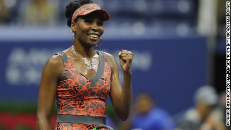 Venus Williams at this year's US Open.