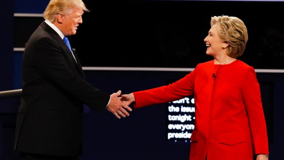 President Donald Trump and former Secretary of State Hillary Clinton continue to feud even after Trump beat his Democratic opponent in the presidential election in November.