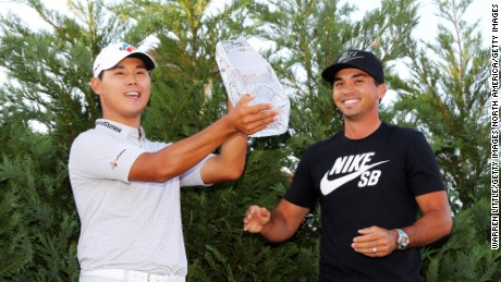 Si-woo Kim is one of only two golfers born outside of the United States this side of World War Two to win two PGA tour events before their 22nd birthday.