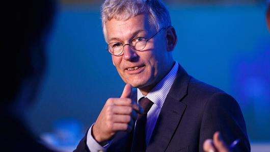 Frans van Houten, chief executive officer of Royal Philips NV