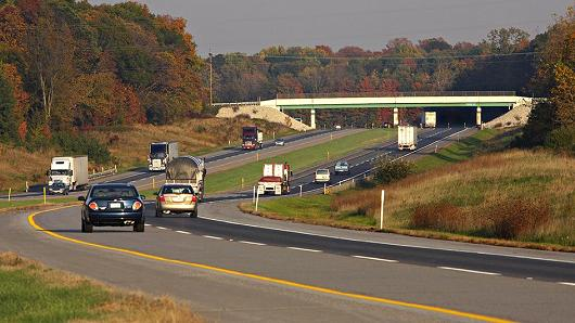 Calpers Is Now An Investor In The Indiana Toll Road Which Carries On Average 50