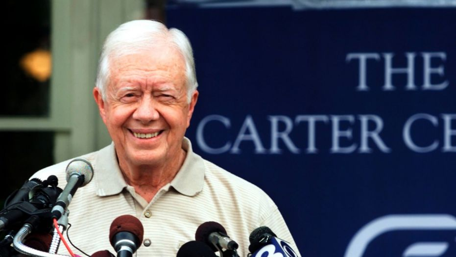 Jimmy Carter, the 93-year-old former Democratic president, says he is willing to go to North Korea on a diplomatic mission for President Trump amid the escalating tensions over nuclear weapons.