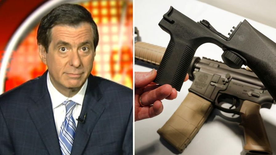 'MediaBuzz' host Howard Kurtz weighs in on Washington's change of tone regarding gun control, especially from the NRA suggesting stricter guidelines on 'bump stock' purchases.