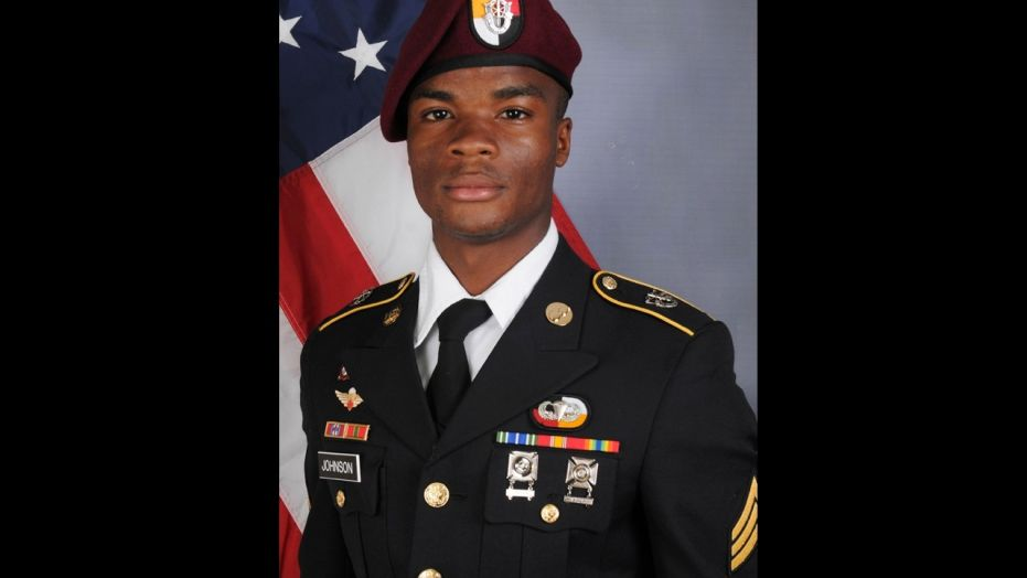 U.S. Army Sgt. La David Terrence Johnson, 25, was among four U.S. Green Berets killed in Niger on Oct. 4.