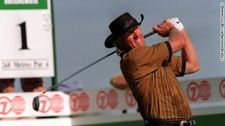 Greg Norman was one of the biggest hitters on the PGA Tour in his prime.