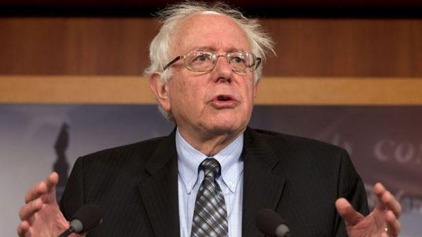 Sen. Bernie Sanders, I-Vt., speaks during a Dec. 6, 2012, news conference on Capitol Hill in Washington.