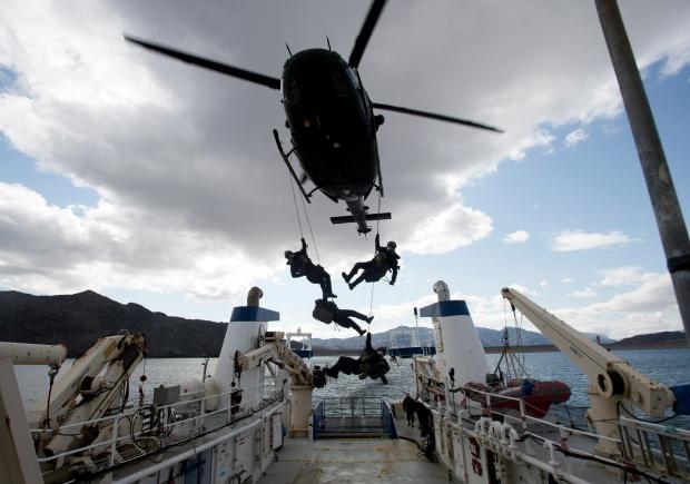 Stephen Harper in Arctic for Operation Nanook