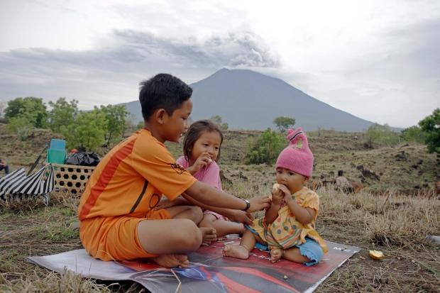 Indonesia Bali Volcano