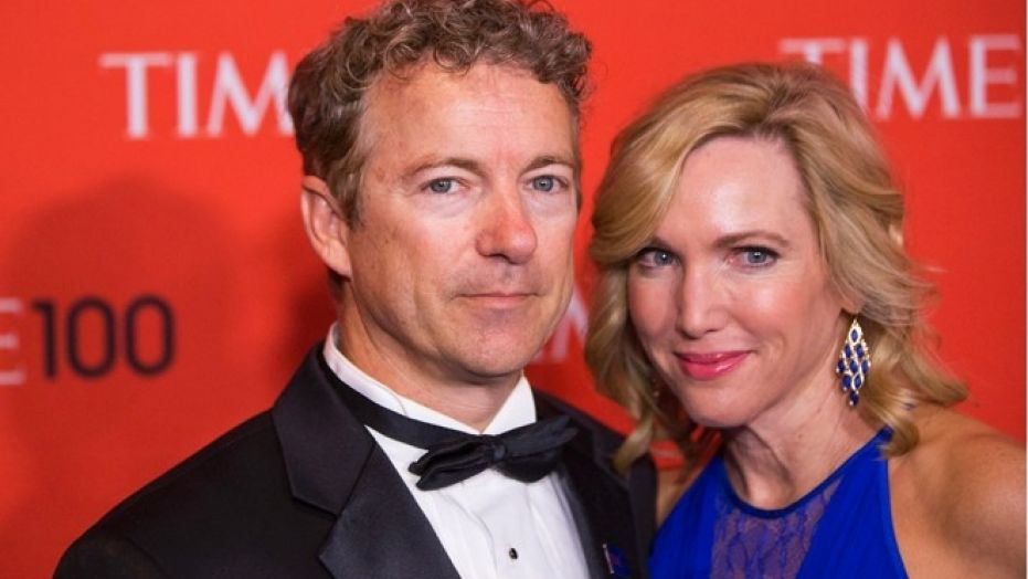 Kelley Paul, shown here with Sen. Rand Paul at a Time 100 gala in 2014, is speaking out on the violent attack against her husband.