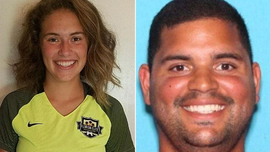 Caitlyn Frisina, left, is believed to be with Rian Rodriguez.