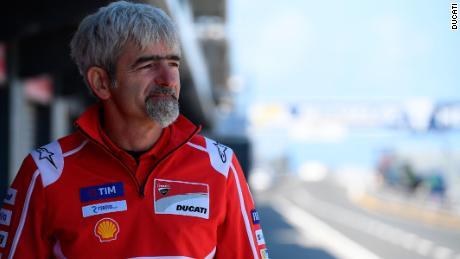 Ducati Team Principal Luigi Dall'Igna