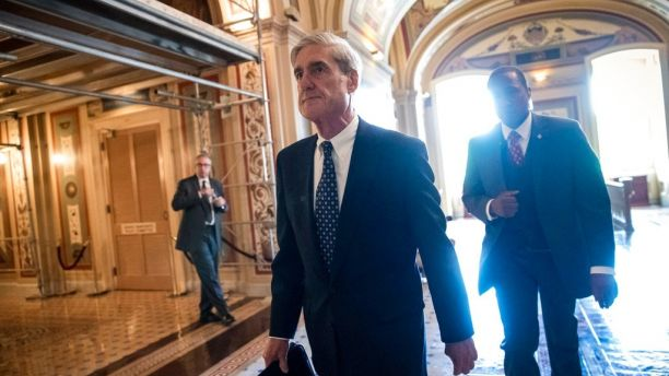FILE - In this June 21, 2017, file photo, Special Counsel Robert Mueller departs after a closed-door meeting with members of the Senate Judiciary Committee about Russian meddling in the election at the Capitol in Washington. (AP Photo/J. Scott Applewhite, File)