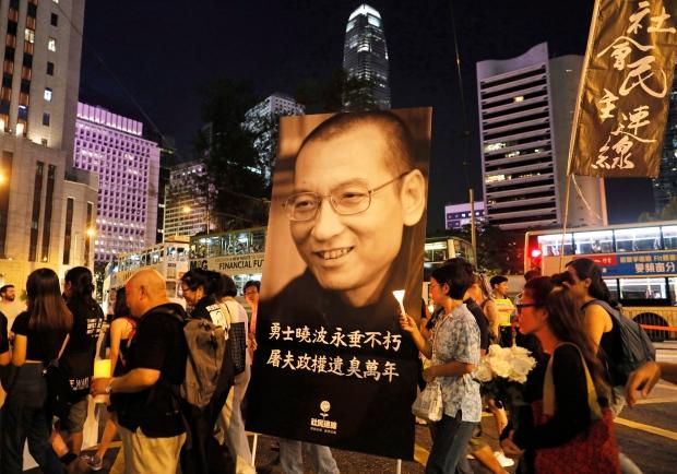 Hong Kong China Liu Xiaobo