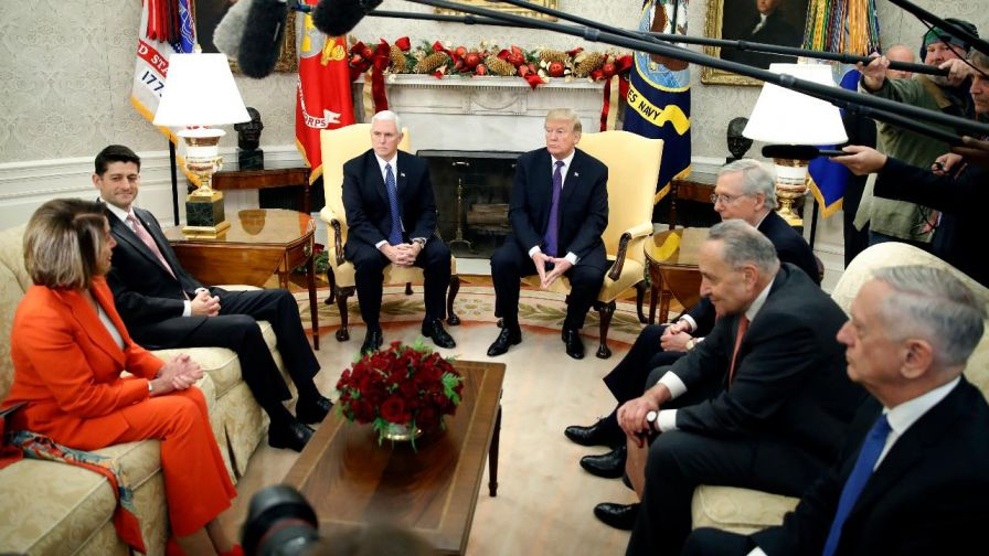 A government shutdown would jeopardize money for the military and veterans, crippling Trump's plan for a major boost in spending; Kevin Corke has the story for 'Special Report.'