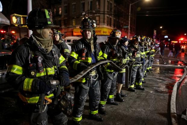 NEW YORK-FIRE/