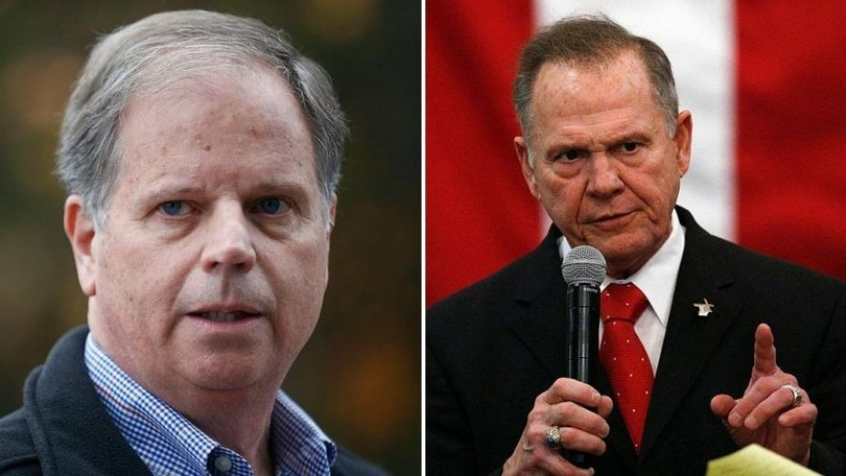 Alabama Democrat Doug Jones (left) on Thursday will be officially declared the winner of a U.S. Senate race after a judge rejected Republican Roy Moore's (right) last-ditch effort to stop the certification of Jones' historic upset in a deep-red state.