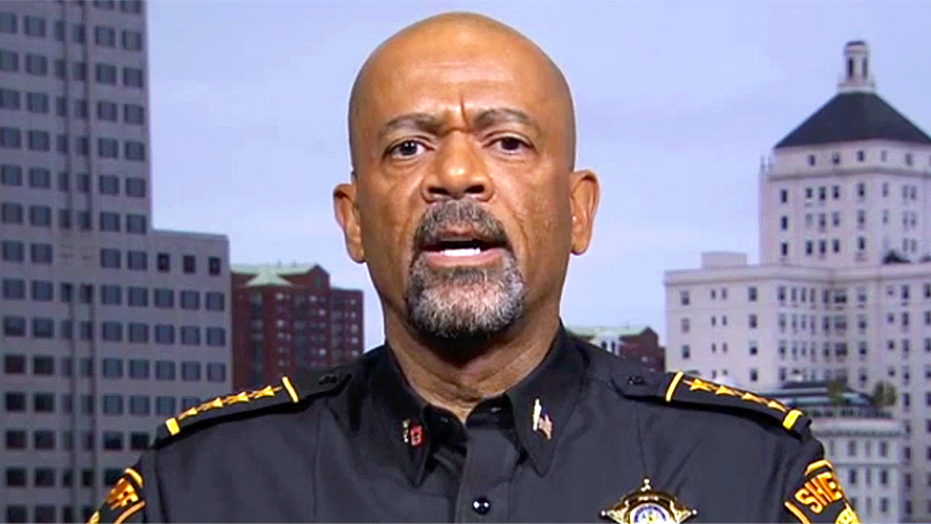 Former Milwaukee County Sheriff David Clarke accused the media of misreporting about an FBI warrant from earlier this year