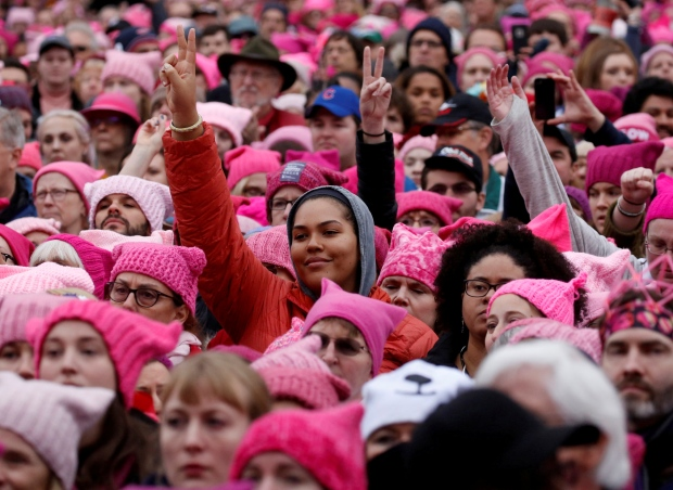Pussyhats at the Women's March