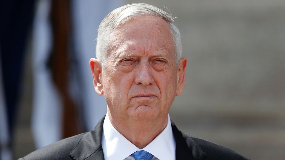 Mattis cast doubt on the Washington Post report, saying President Trump does not push back against Russia talk