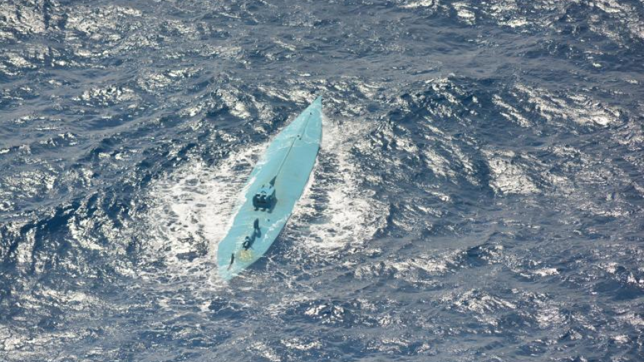 Military intercepted a self-propelled semi-submersible vessel loaded with more than 3,800 pounds of cocaine right outside U.S. borders.