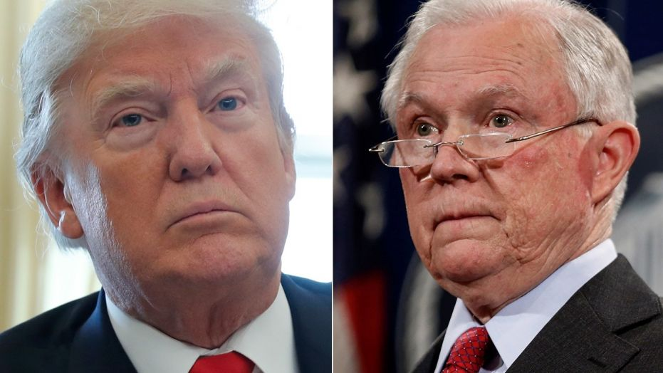 President Trump reportedly blamed Attorney General Jeff Sessions for Republican Roy Moore's loss in Alabama earlier this month because his departure from the Senate to lead the Justice Department necessitated the race.