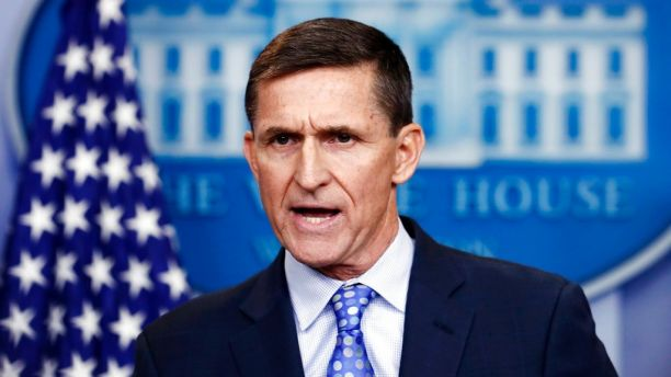 """FILE - In this Feb. 1, 2017 file photo, tne-National Security Adviser Michael Flynn speaks during the daily news briefing at the White House, in Washington. Flynn has opened a new consulting firm called Resilient Patriot, LLC that is advising private equity firms, according to one of his brothers, who says Flynn is """"moving on with his life."""
