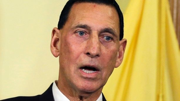 "FILE - In this Jan. 6, 2014 file photo, Rep. Frank LoBiondo speaks in Trenton, N.J. LoBiondo announced his retirement on Nov. 7, declaring that ""our nation is now consumed by increasing political polarization; there is no longer middle ground."" He will not seek re-election.(AP Photo/Mel Evans, File)"